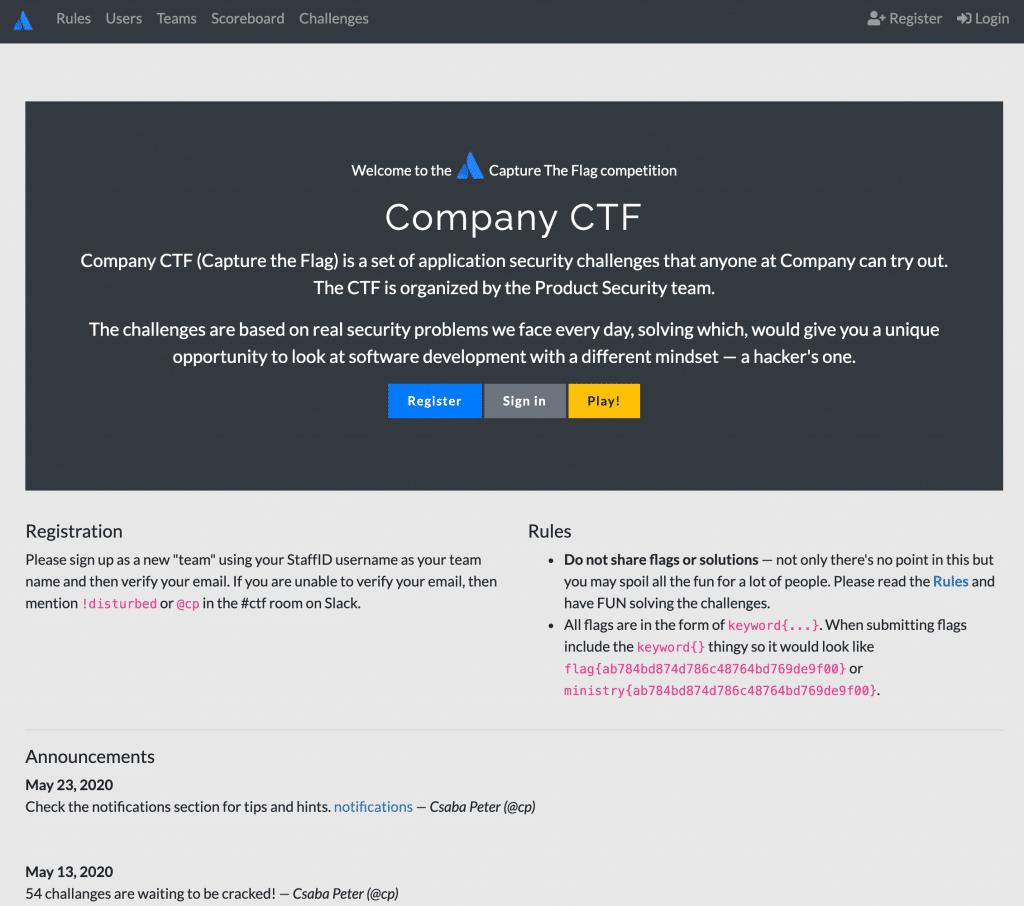 Company CTF